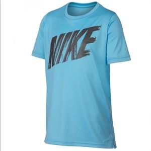Nike Short Sleeve Dri-Fit Front Logo Tee XL